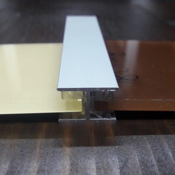 Балка алюминиевая 18х12х1 серебро