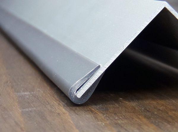 Окантовочный профиль 2мм серый