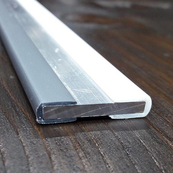 Окантовочный профиль 3мм серый