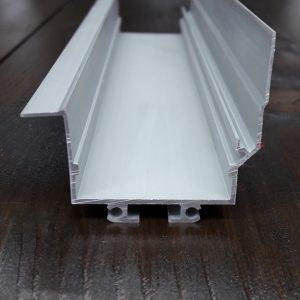 Угловой led профиль интерьерный под штукатурку BLL1014. Длина-3м