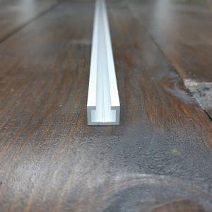 Заготівля для повзунка до T-track профілем 14х10 (пластина алюмінієва 120х11х5)