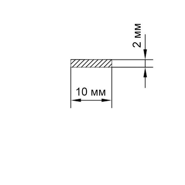 алюминиевая полоса 10х2