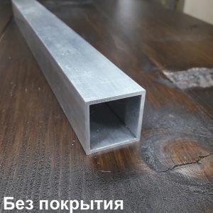 алюминиевая труба квадратная без покрытия