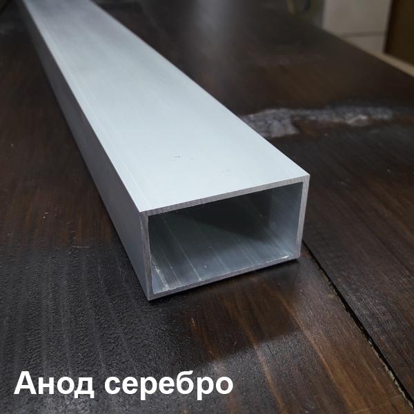 алюминиевая труба прямоугольная анод