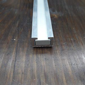 Заготівля для повзунка до Т-трек профілем 18х11 (пластина алюмінієва 200х14х6)