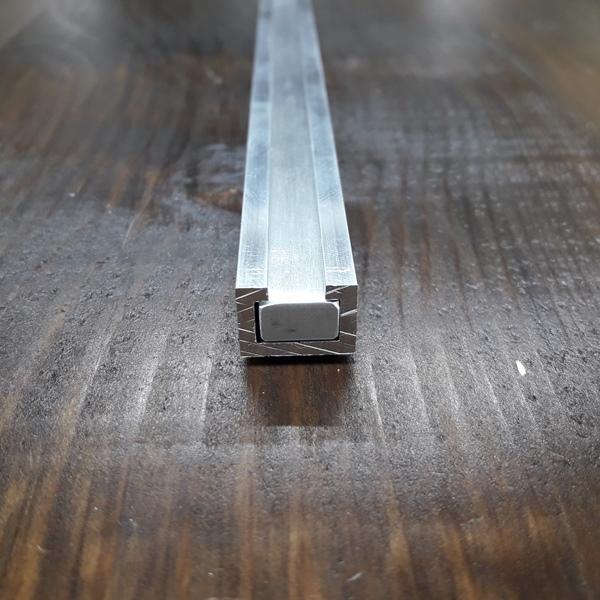 заготовка для ползунка из пластины алюминиевой 200х11х6