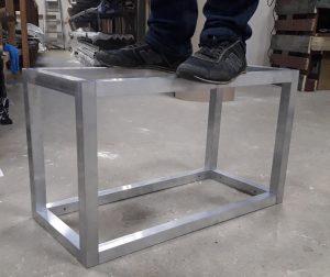 каркас из алюминиевой трубы