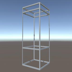 Выставочная витрина | Конструктор из торговых профилей М-13