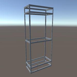 Торговые витрины стеллажи | Конструктор из торговых профилей М-18