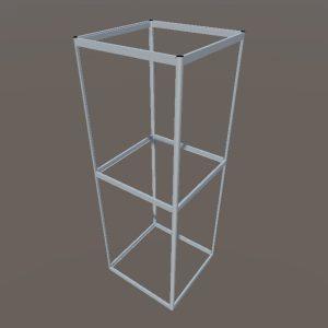 Алюминиевые витрины | Конструктор из торговых профилей М-9