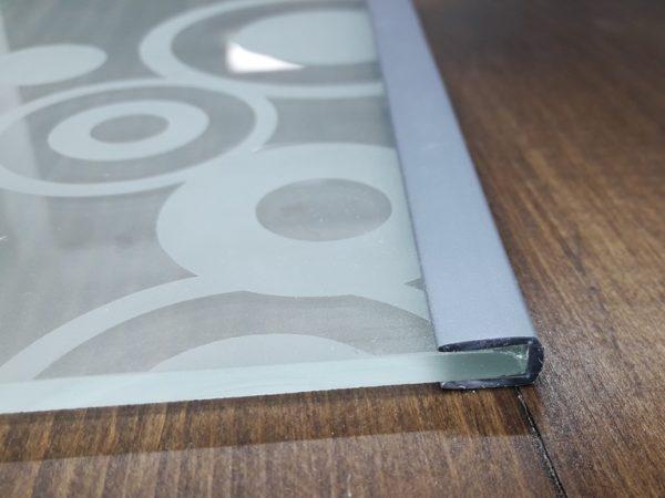 Окантовочный профиль 4мм серый