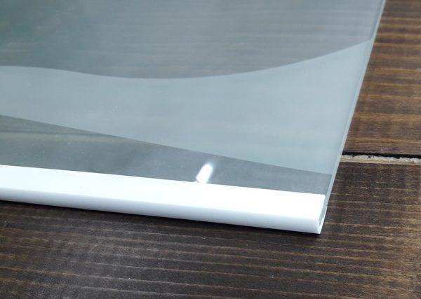 Окантовочный профиль 4мм белый
