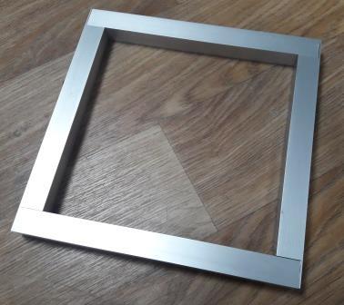 рамка из алюминиевой трубы