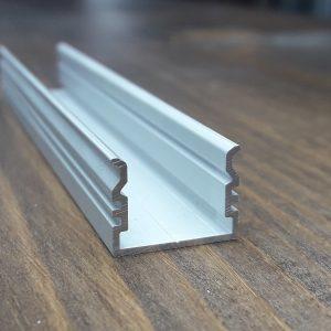 Алюминиевый светодиодный профиль. BLL-1011 анод. Длина-2м.