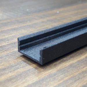 светодиодный профиль z306 черный