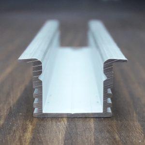 Профиль врезной для охлаждения Led ленты. BLL-1201 анод. Длина-3м
