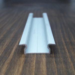 Врезной профиль для светодиодной ленты. BLL-1012 анод. Длина-2м