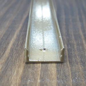 Профиль для светодиодной ленты z306 (аналог ЛП7) золото. Длина планки 2МП