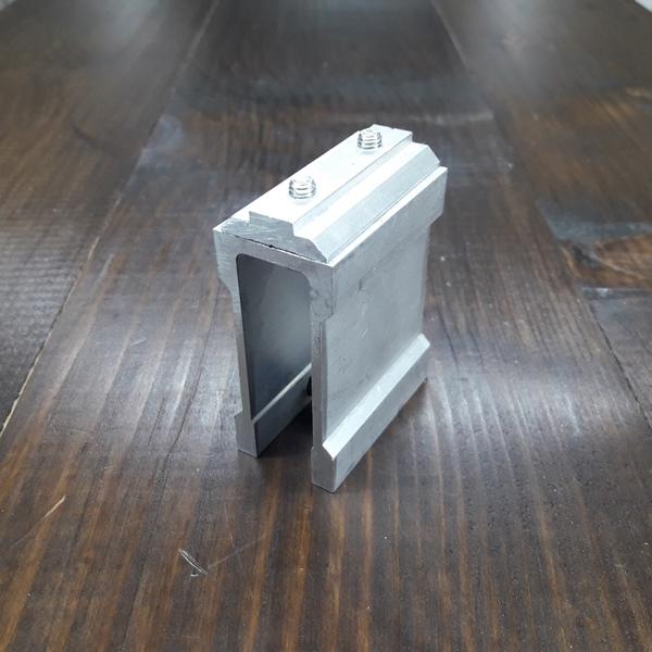 соединительное крепление алюминиевой трубы 30х60х2