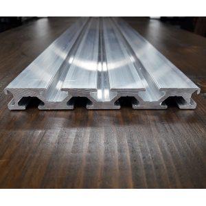 Верстатний алюмінієвий профіль 120х15, слот під гвинт М8
