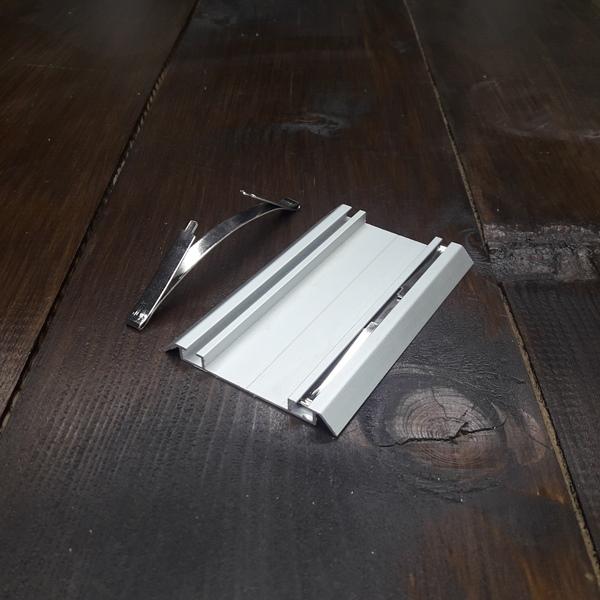 стопор для нижней рельсы шкафа купе