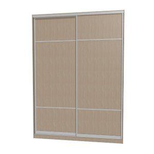 Шкаф купе | Дверь купе с комбинированным наполнением