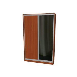 Шкаф купе | Дверь купе ДСП+Зеркало
