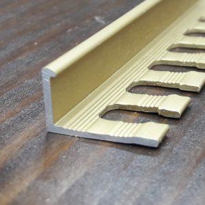 Профиль для плитки L образный (гибкий) 17х11мм. Длина 2,71м