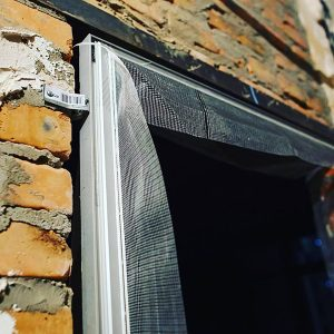 Алюминиевый профиль дверной коробки В2100х700 / 800 / 900мм