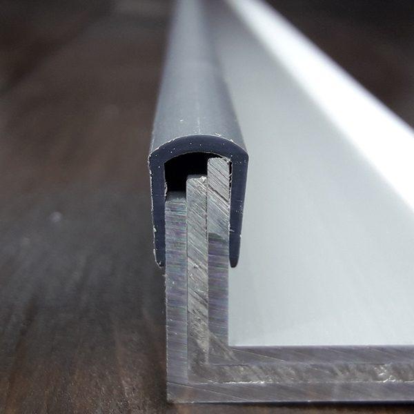Окантовочный профиль 6мм серый