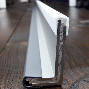 Окантовочный профиль 6мм белый