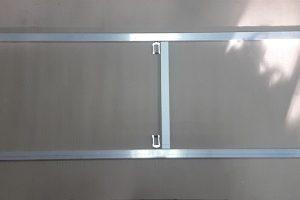Рама из алюминиевой трубы 40х20 для сборки дверного полотна