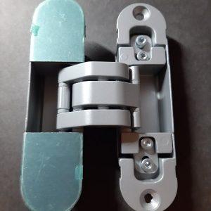 Скрытая петля для дверного короба Outlav INVISACTA 30 * 120 корпус металл. Нагрузка на 1 петлю 30 кг.