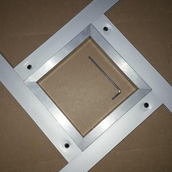 алюминиевая рамка для фрезера