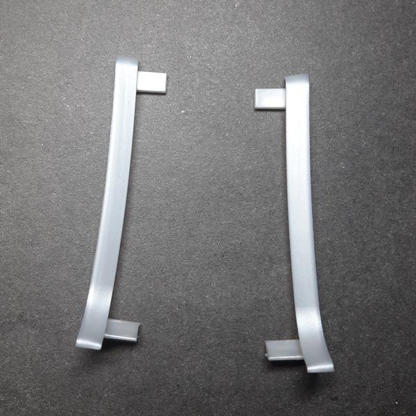 окончание пластиковое для алюминиевого плинтуса