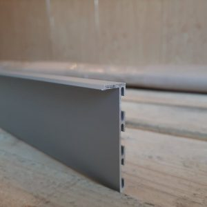 Плинтус алюминиевый скрытый монтаж 53мм. BLW-3105 L-3 метра.
