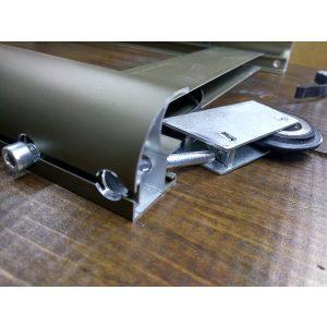 Раздвижная система для сборки дверей купе