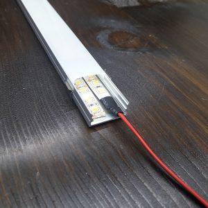 Светодиодный профиль накладной под 2 ленты ПФ-25