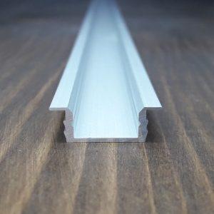 Врезной профиль для светодиодной ленты ЛПВ7. Длина-2м