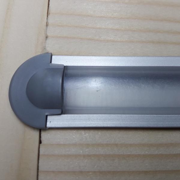 врезной светодиодный профиль лпв7