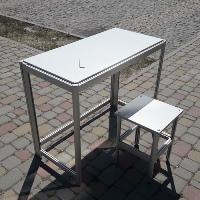 Новинка! Мебель из алюминиевого профиля. Стол & Стул.