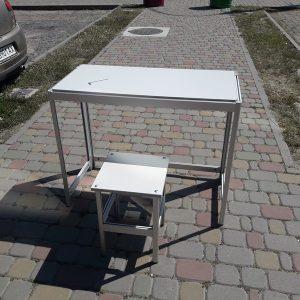 Стол + Стул из алюминиевого профиля