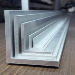 Уголок алюминиевый — обновление ассортимента.