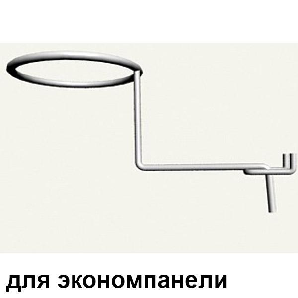 крючок плоский для шапок на экономпанель