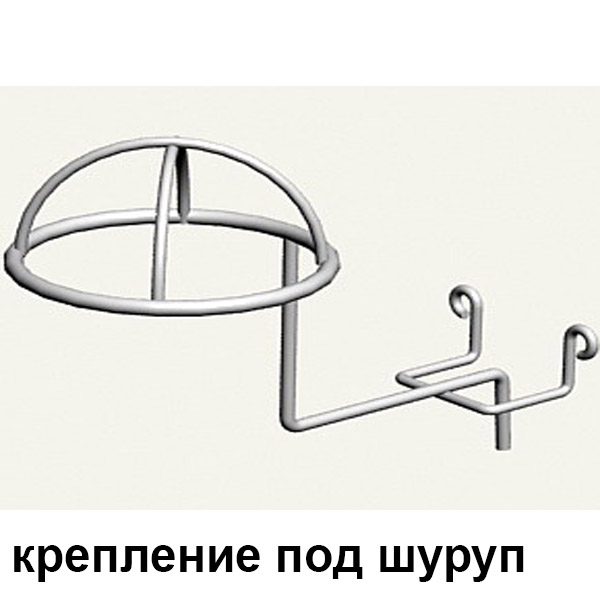 крючок полусфера для шапок на дсп