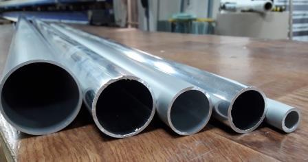 Алюминиевая труба круглая. Новинки в ассортименте