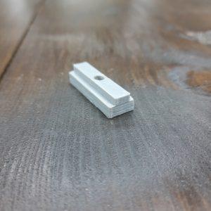Повзунок до Т-трек профілем 18х11 гайка М6 (PETG пластик), довжина 4см