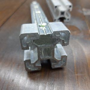 Лінійний з'єднувач 40я серія, паз 10мм, L-120