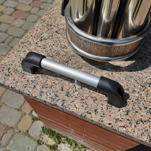 Ручка скоба з алюмінієвої труби