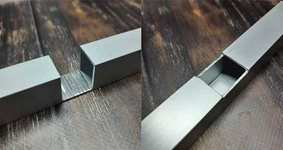 Послуги обробки алюмінієвих профілів